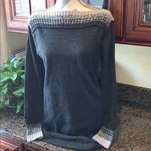 NY&CO Gray Sweater